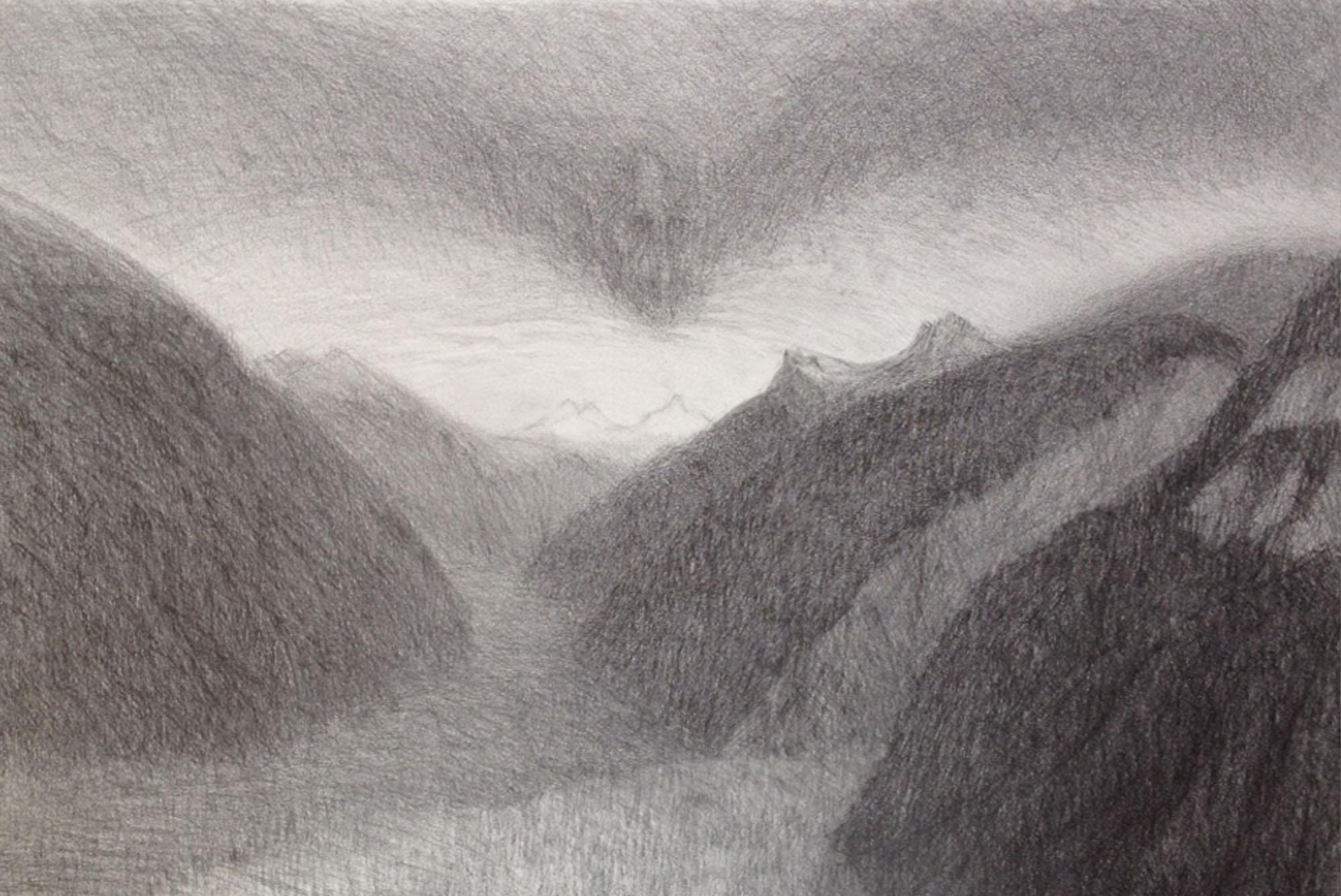Elisabeth Fux Mattig, animierte Berge 2, 2003