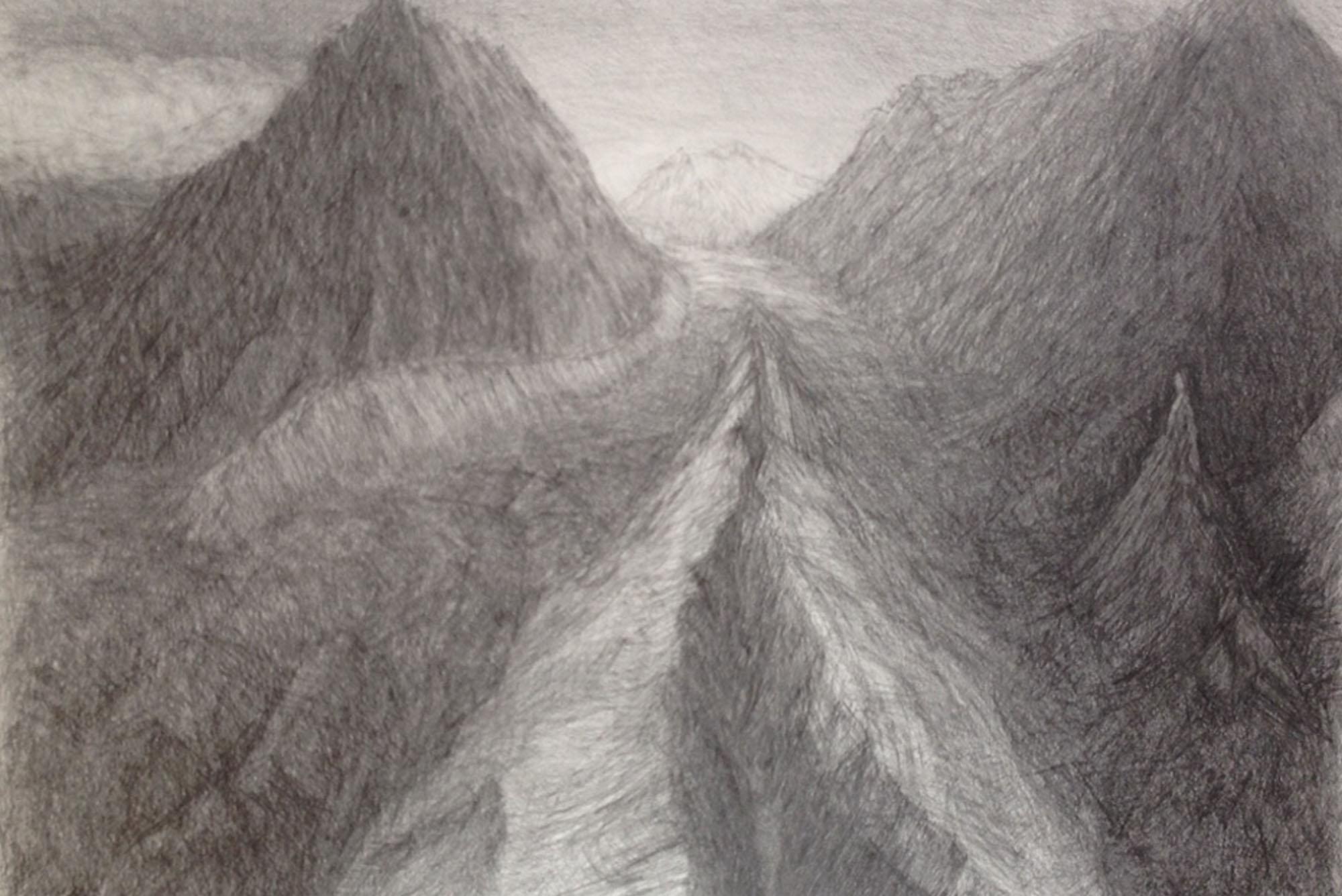 Elisabeth Fux Mattig, animierte Berge 4, 2003